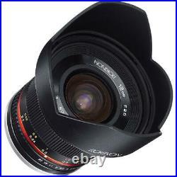 Rokinon 12mm f/2.0 NCS CS Manual Focus Lens for Fuji X Mount #RK12M-FX