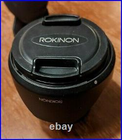 Rokinon 12mm f/2.0 NCS CS Ultra Wide Angle Lens for Fujifilm Fuji X Mount