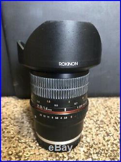 Rokinon 14mm F2.8 Sony E Lens