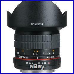 Rokinon 14mm f/2.8 IF ED UMC Lens for Canon #FE14M-C