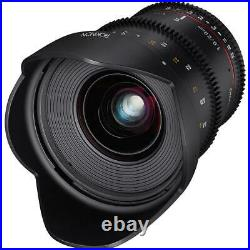 Rokinon 20mm T1.9 Ultra Wide Angle Cine DS Lens for Canon EF Mount #DS20M-C