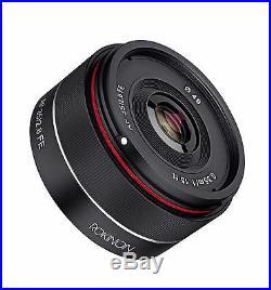 Rokinon AF 35mm F2.8 Full Frame Auto Focus Lens for Sony E Mount FE IO35AF-E