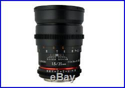 Rokinon Cine 35mm T1.5 AS IF UMC Full Frame Cine Lens f/ Canon EF- CV35-C