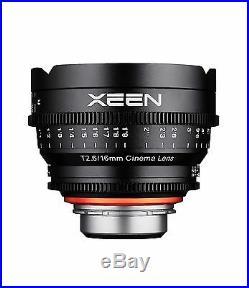 Rokinon XEEN XN16-PL 16mm T2.6 Professional Cine Lens for Arri PL Mount