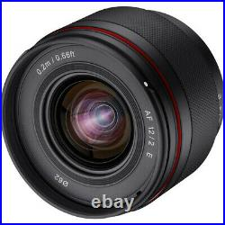 Rokinon12mm f/2.0 AF Compact Ultra Wide-Angle Lens for Sony E-Mount