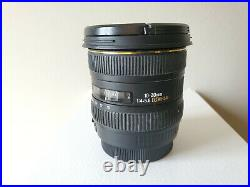 SIGMA EX 10-20mm f/4-5.6 DC HSM for Canon EF mount READ PLEASE