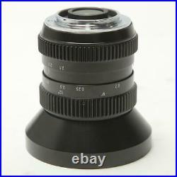 SLR Magic 10mm T/2.1 Hyperprime Cine Lens for MFT Cameras SKU#1411338