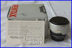 SMC Pentax-FA 24mm F2, EXC Optical Condition, Well-used Cosmetically, Hood Caps