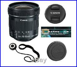Sale Canon Ef-s 9519B002 10-18mm F/4.5-5.6 Stm Is lens + Free Cap keeper