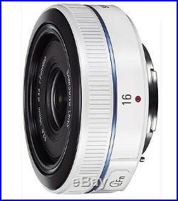 Samsung NX 16mm F2.4 i-F Ultra Pancake Lens -White NX1 500 300M 3000