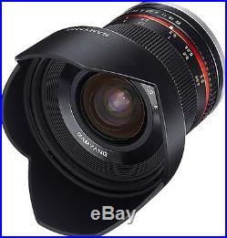 Samyang 12mm F2.0 NCS CS Nano MC APSC Extra Wide Angle Lens for Fujifilm Fuji X
