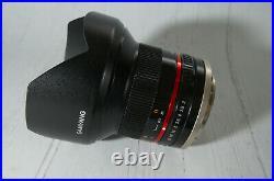 Samyang 12mm F2.0 NCS CS Ultra Wide Angle Lens for Sony E Mount Black