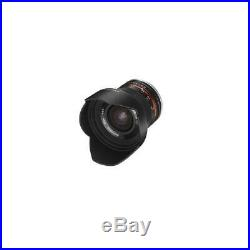 Samyang 12mm F2.0 NCS CS Ultra Wide, Manual Focus Lens for Sony E Cameras, Black