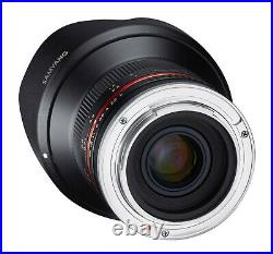 Samyang 12mm F2.0 UMC f/2.0 Ultra Wide Angle Lens for Fujifilm Fuji X by FedEx