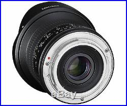 Samyang 12mm F2.8 ED AS NCS FISH-EYE Full Frame Lens for Canon EOS EF