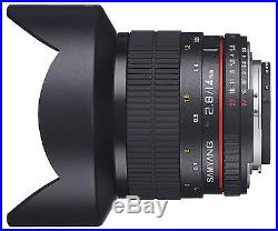 Samyang 14mm F2.8 ED AS UMC f/2.8 Ultra Wide Angle Lens for Canon EOS DSLR +Gift