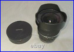 Samyang 14mm F2.8 Lens Sony Fe Mount. Used. Excellent Optics