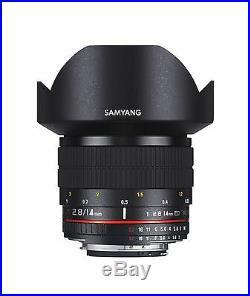 Samyang 14mm F2.8 Super Wide Angle Lens for Canon EOS Digital SLR