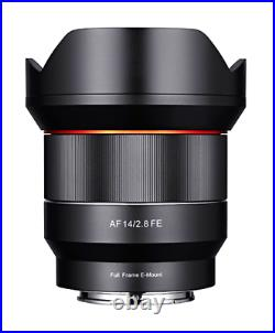 Samyang AF 14mm F2.8 FE Sony Full Frame E Mount Lens CC1525