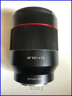 Samyang AF 50mm f/1.4 FE Lens for Sony E Mount Full Frame