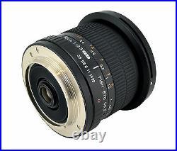 Samyang HD 8mm F3.5 Fisheye Lens for Canon T5i T4i T3i T3 60D 50D