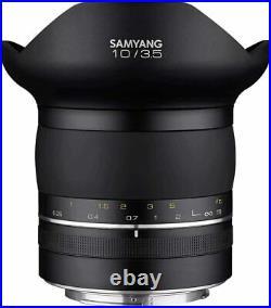 Samyang Premium XP 10mm f/3.5 Ultra Wide Angle Lens For Nikon F
