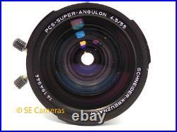 Schneider Kreuznach Pcs Super Angulon 55mm F4.5 Shift Lens Rollei Slx 6006 6008