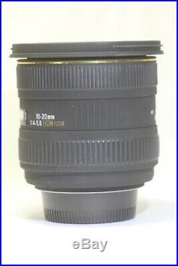 Sigma 10-20mm F/4-5.6 EX DC HSM AF Lens For Nikon