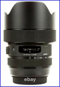 Sigma 14-24mm f/2.8 DG HSM Art Lens for Canon EF 212954
