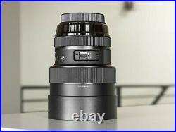 Sigma 14-24mm f/2.8 DG HSM Art Lens for Canon EF No Reserve