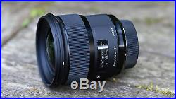 Sigma 24mm f/1.4 DG HSM Art Lens for Nikon F #401306