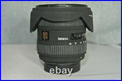 Sigma EX 10-20 mm F/4.0-5.6 HSM DC for Nikon. Excellent condition