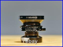 Sinar Sinaron W 75mm F4.5 MC Rodenstock Grandagon N Lens Large Format CLAD