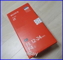 Sony FE 12-24mm F4 G Lens SEL1224G