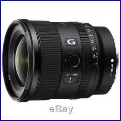 Sony FE 20mm F1.8 G Full Frame E-Mount Lens #SEL20F18G