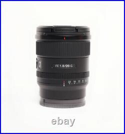 Sony FE 20mm f/1.8 G Full-Frame Ultra Wide Angle Lens for Sony E-Mount SEL20F18G