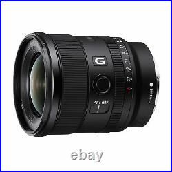 Sony FE 20mm f/1.8 G Full-frame Large-aperture Ultra-wide Angle G Lens