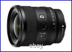 Sony FE 20mm f/1.8 G Ultra Wide Angle Prime Lens for E-mount Cameras ModelSEL