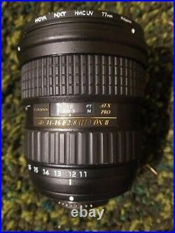 TOKINA SD 11-16mm F/2.8 IF DX II LENS FOR NIKON