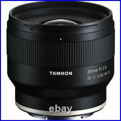Tamron 20mm f2.8 Di III OSD Macro Lens Sony FE Mount