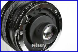Tamron Sp 51b 17mm F/3.5 Ultra Wide Angle Adaptall -2 Lens & Caps With Filters