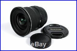 Tokina 11-16mm F/2.8 AT-X Pro SD IF DX AF Lens For Nikon APS-C Sensor DSLRS 77