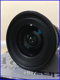 Tokina 11-16mm f/2.8 Canon