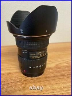Tokina 11-16mm f/2.8 canon (GREAT CONDITION)