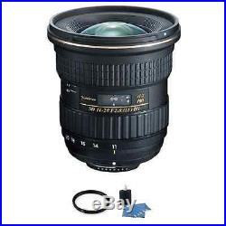 Tokina AT-X 11-20mm f/2.8 PRO DX Lens for Nikon + UV Filter & Cleaning Kit