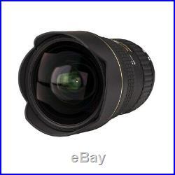 Tokina AT-X 16-28mm f/2.8 Pro FX Lens For Full Frame FX Nikon DSLRs Black NEW