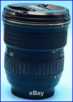 Tokina AT-X PRO DX-II 11-16mm f/2.8 NAF Lens for Nikon Exc+++++WithCaps & Hood