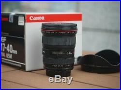USED Canon EF 17-40mm f/4 L USM Lens