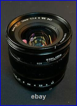 Used FUJIFILM XF 16mm f/1.4 R WR Lens Great Working Condition