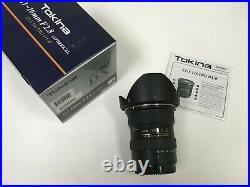 Used Tokina 11-16mm F2.8 Type II Canon Mount
